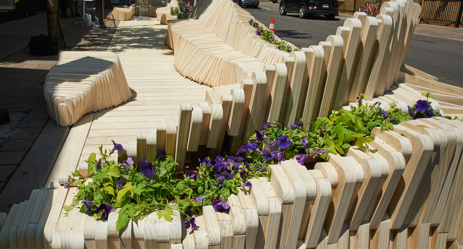 Upper Canada Supports Downtown Yonge BIA and Ryerson University Toronto-Area Parklet Partnership