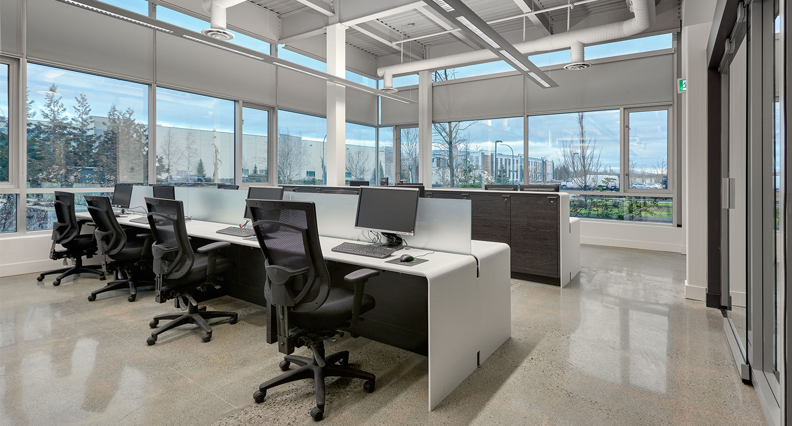 Upper Canada Vancouver Office Renovates Using Avonite, Polylac and Element Veneer